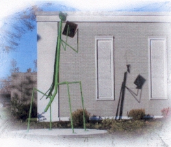 Reading Mantis at the Jackson, Tennessee, public library